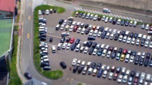 駐車場の車鍵紛失